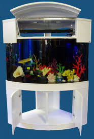 fish tank lighting ideas. Ideas Large-size Modern Elegant White Nuance Of The Corner Aquarium Fish Tanks That Can Tank Lighting O