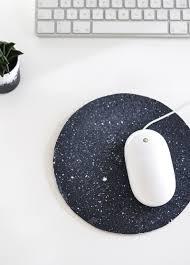 diy cosmic trend inspired mousepad craft