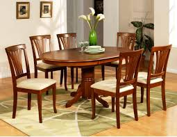image of large round kitchen table sets