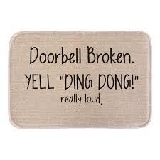 Animals Welcome Doormats Funny Sign