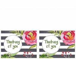 free thank you greeting cards thank you cards best of free thank you card to print free thank