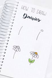 These doodle flowers are so easy to draw, anyone can do it. 17 Amazing Step By Step Flower Doodles For Bujo Addicts Crazy Laura