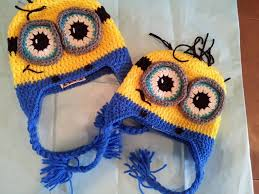 Minion Hat Crochet Pattern Inspiration Tutorial How To Crochet 4848 Month Old Minion Beanie By Sabrina