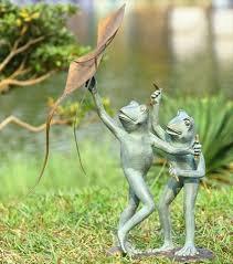 garden frog statue. Cutest Outdoor Frog Sculptures Garden Statue M