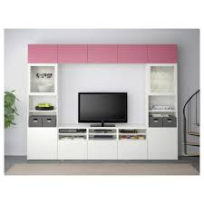 besta tv storage combinationglass doors lappviken pinksindvik
