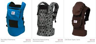 Zulily: Ergo Baby Carrier Sale   Prices Up To 48% Off
