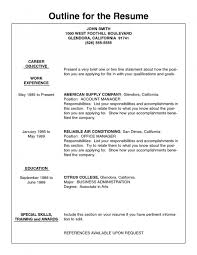 American Resume Format Free Resume Example And Writing Download