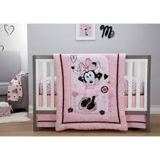 Minnie Mouse Bedding from Buy Buy Baby & Crib Bedding Sets > Disney® Minnie Mouse Hello Gorgeous 3-Piece Crib Bedding  Set Adamdwight.com