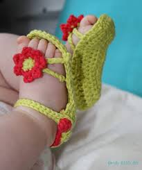 Crochet Baby Sandals Pattern Enchanting 48 Adorable And FREE Crochet Baby Sandals Patterns