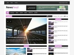 Website Template Newspaper All Categories Teamfarms
