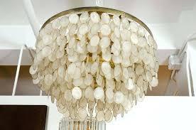 elegant amusing white shell chandelier for home remodel design pendant light designs capiz neiman marcus