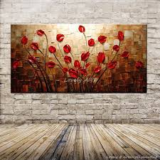 Texture Paint Designs For Living Room Popular Textured Flower Painting Buy Cheap Textured Flower