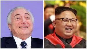 Resultado de imagem para presidente da coreia do norte e temer fotos