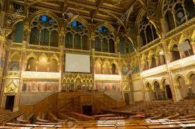 BUDAPEST HUNGARY NOVEMBER   Interior Of The House - Houses of parliament interior