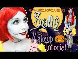 sally nightmare before makeup tutorial 2016