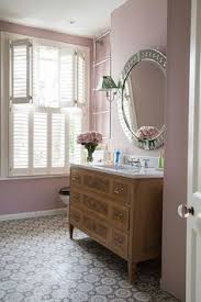 English home furniture English Country Traditional English Bathroom With Built In Bathtub And Walls Painted Pink And Wall Art The English Home 105 Best English Homes Images Color Interior Interior Design