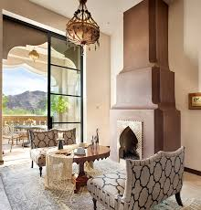 moroccan living room decorating ideas chic white moroccan pattern sofa chair grey moroccan rug round lacquered