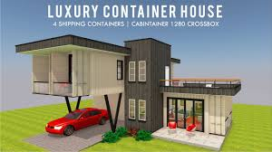 House Designs Using Shipping Containers Top 5 Luxury Shipping Container Home Designs Floor Plans 2019