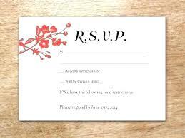 Card Wording Online Postcard Template Wedding Cards Rsvp Free