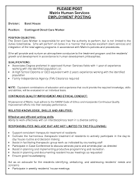 Resume Objective Disability Support Worker Resume For Study