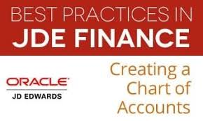 Jd Edwards Financial Best Practice Series Creating A Chart