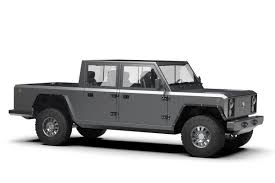 Bollinger Motors teases a rugged electric pickup truck with 200 ...