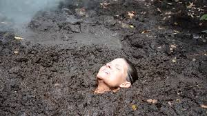 Asian chick sinks in quicksand