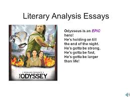 literary analysis essays ppt video online  literary analysis essays