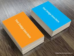Realistic Business Card Mockup Template Free Download Designscanyon