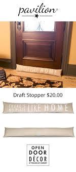 pavilion open door decor there s no place like home tan beige decorative door