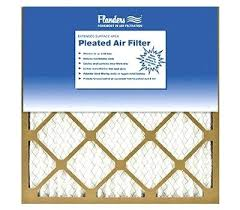 Flanders Filters Basic Inch By 1 Economy Pleated Air Filter Flanders Ez Flow