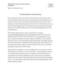 against animal testing argumentative essay se against animal testing argumentative essay