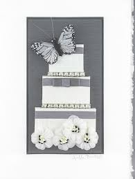Butterfly Wedding Cake Constance Kay Art Card Store