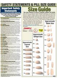 Pill Tablet Size Chart Www Bedowntowndaytona Com