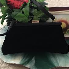 Hillard & Hanson Bags | Velvet Purse By Hillary Hanson | Poshmark