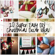 easy diy christmas room decorations. 35 diy christmas decor ideas crafthubs easy room decorations 2