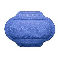 Подголовник для <b>ванны BACCHETTA</b> на присосках ПВХ синий ...