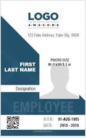 Identity Card Design 8 Best Professional Design Vertical Id Card Templates Microsoft