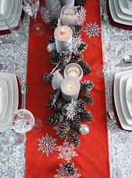 red christmas table decorations. 3 Christmas Table Decorations Ideas Red