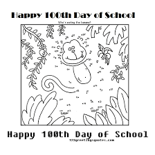 Small Picture 100th Day Of School Coloring Pages Coloring Book of Coloring Page