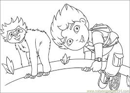 Small Picture Diego 09 Coloring Page Free Go Diego Go Coloring Pages
