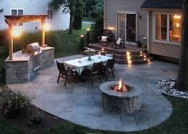 a classic outdoor living solution stone patios for many homes a stone patio makes for wonderful outdoor living experience unlike decks patios allow backyard18