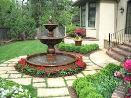 outdoor water fountain plants water wall fountain houston texas