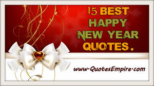 Happy New Year Beautiful Quotes