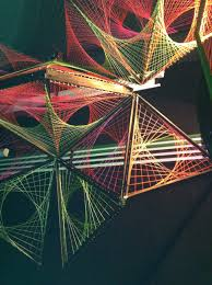 string connection art | amazing 3D string art designs for trance party last  June