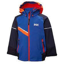 Helly Hansen Kids Norse Jacket Olympian Blue