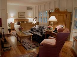 Interior:Country Living Room Blending Modern And Traditional Style With  Trendy Brown Sofa Marvelous Neutral