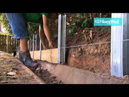 surewall retaining wall systems you