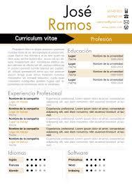 Modelo De Curriculum Vitae En Word Modelos De Curriculum Vitae Word Para Completar