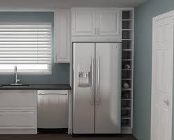 Above Refrigerator Wine Rack Above Refrigerator Cabinet Size Above